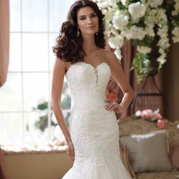 Mon Cheri Dresses | David Tutera Wedding Gown | Poshmark